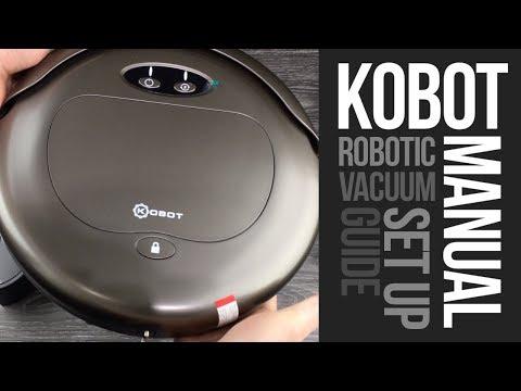 Kobot RV353 Robotic Vacuum Manual Set Up Guide   How to Set Up