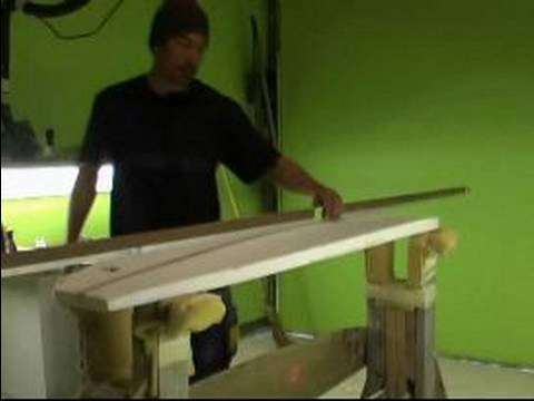 How to Shape a Surfboard : How to Measure the Rocker of a Surfboard