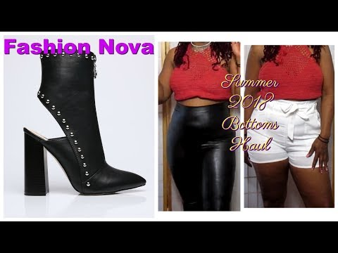Fashion Nova Bottom Ready Summer Haul 2018