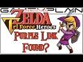 Purple Link found in Zelda: Tri Force Heroes?!