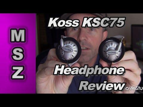 Koss KSC75 High Performance On Ear Headphones Review