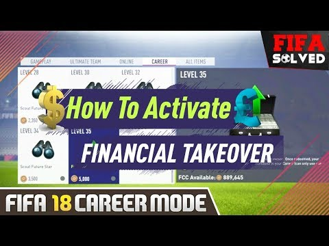 How To Activate FIFA 18 Financial Takeover
