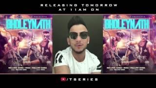 BHOLEYNATH | Millind Gaba,Ikka,Pallavi Gaba | Song Releasing Tomorrow