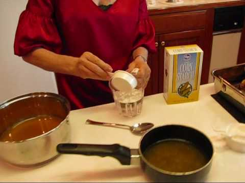 Betty's Fat-Free Thanksgiving Turkey Gravy