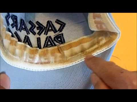 Clean the sweat and dirt from inside baseball cap - quick and cheap