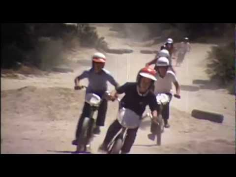 The origins of riding bicycles on berms and jumps