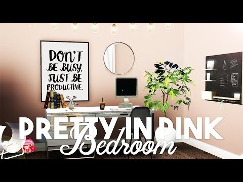 Sims 3 || Let's Decorate: Pretty-In-Pink BEDROOM (The Austin Family)