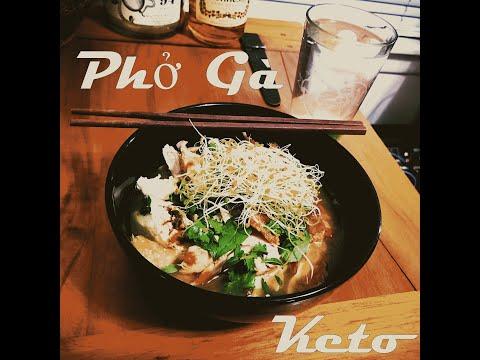 Keto Pho Ga Recipe - Low Carb Vietnamese Noodle Soup