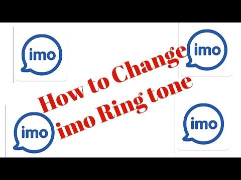 How to Change imo Ringtone.