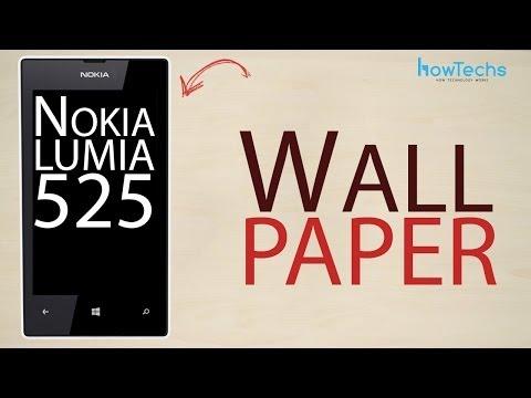 Nokia Lumia 525 - How to change theme and wallpaper