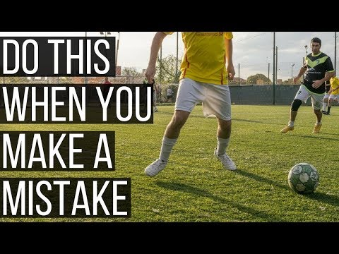 How To Get Over Mistakes In Soccer Immediately
