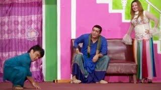 Zafri Khan and Vicky Kodu Stage Drama Baazigar Comedy Clip 2019 - New Stage Drama 2019