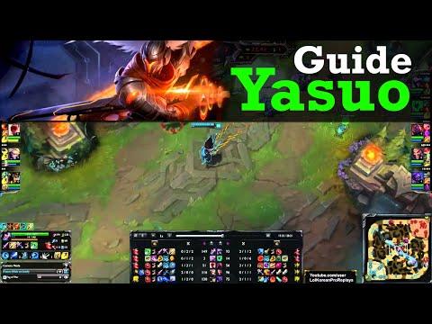 guide yasuo s5 - SKT T1 Faker Yasuo vs Talon MID Ranked Challenger Korea