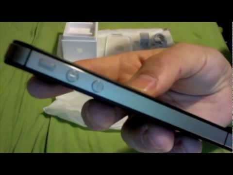 iPhone 4S unboxing and First look