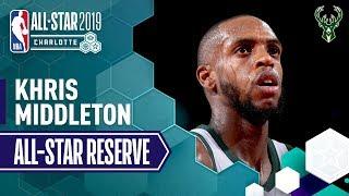 Best Of Khris Middleton 2019 All-Star Reserve   2018-19 NBA Season