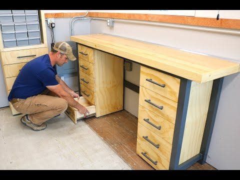 Steel Frame Workbench - Shipping Container Shop - How To