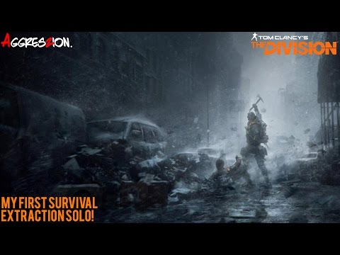 The Division - My First Survival PvE Extraction! (Full Gameplay)