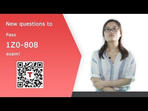 [Testpassport] Oracle Java SE 8 Programmer I 1Z0-808 exam dumps and questions