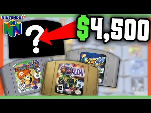 RARE N64 GAMES WORTH MONEY - MOST VALUABLE NINTENDO GAMES!!