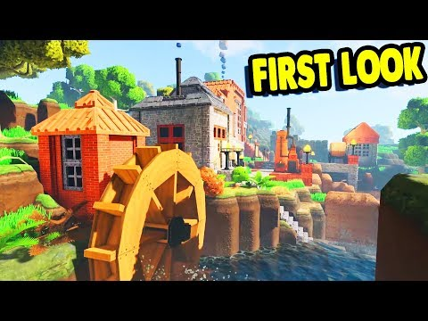 NEW FAVORITE GAME Building Cities, Factories, and Saving the WORLD | Eco Multiplayer Gameplay