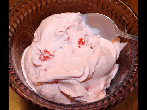 Homemade Maraschino Cherry Ice Cream Recipe