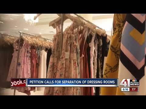 Petition calls for separation of dressing rooms