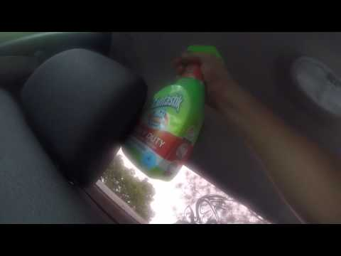 2011 Ford F150 water damage headliner removal