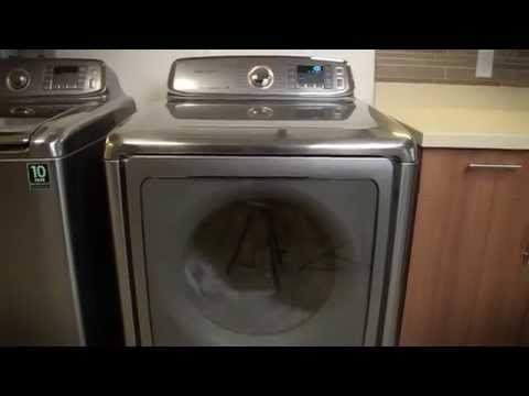 Samsung DV56H9000E dryer - Hands on