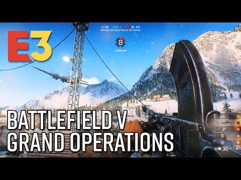 Battlefield V Grand Operations Gameplay - E3 2018