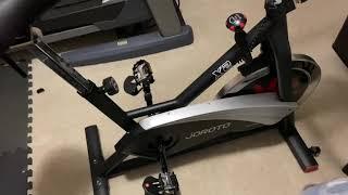 Wahoo Speed Sensor and M.P.H. Calibration Setup For Spin Bikes (Joroto X2)