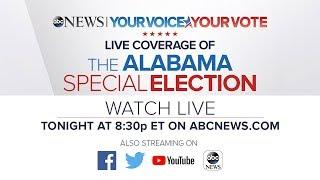 Alabama Senate Race 2017 LIVE: Roy Moore, Doug Jones election results | ABC News coverage
