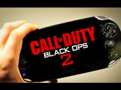 Black Ops 2 on the Playstation Vita!!!