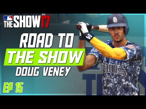 MLB THE SHOW 17 RTTS | NEW GEAR + TRYING TO ROB A HOMER! | EP 15
