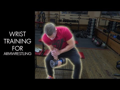 Arm Wrestling  Forearm Training 2018 (Wrist Curls with Dumbbell)