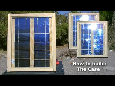 How to make a Solar Panel (part 3 of 3) -