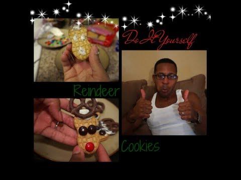 DIY Reindeer Cookies (Pinterest)