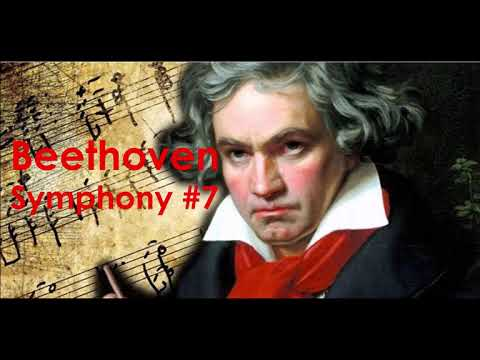 Beethoven Symphony #7 Fourth Movement
