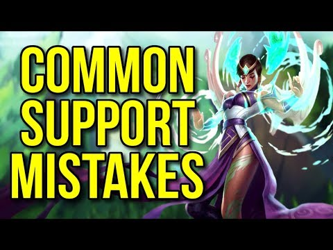 Most Common Mistakes Made by Support Players - League of Legends