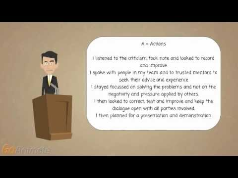 Interview Skills - How do you handle criticism? Excellent sample answer