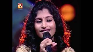Udhaya Udhaya Tamil Song Performed by ALKA AJITH on Amrita TV DUET  2015