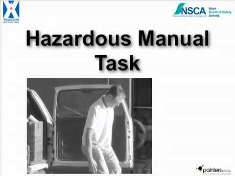 Manual Hazard Injuries, Painters - Workcover NSW
