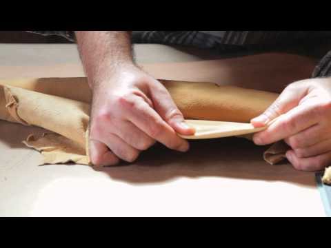 Difference Between Lamb's Leather & Cow Leather : Working With Leather