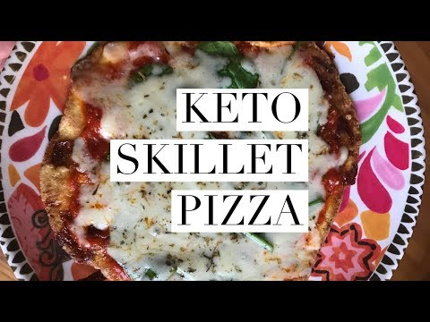 EASY LOW CARB PIZZA! - Fast Keto Pizza Recipe