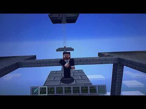 Minecraft Survival Mode Super Efficient 6 Layer XP Farm No Spawner