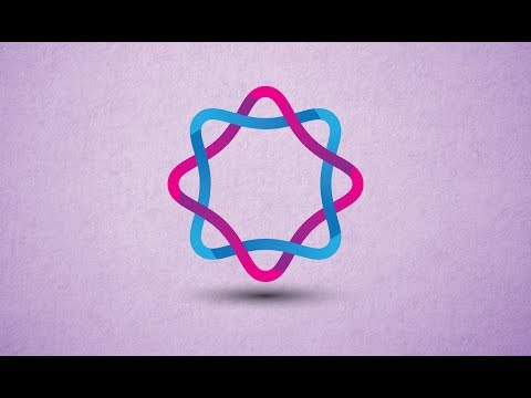 How to make Professional Circular Vector Logo in Adobe Illustrator CS6