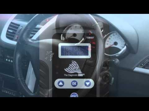TDB007 Peugeot Direct ECU LOST Key Pin Code Reading