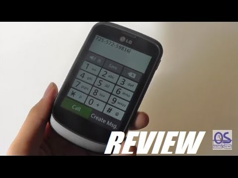 REVIEW: LG 306G TracFone - $7 Smartphone?!