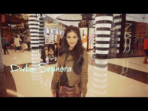 Dubai Mall Sephora & Huda Beauty