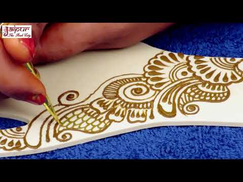 Easy Floral Mehndi Design for Hands for Beginners | New Mehndi Design by Sonia Goyal #284