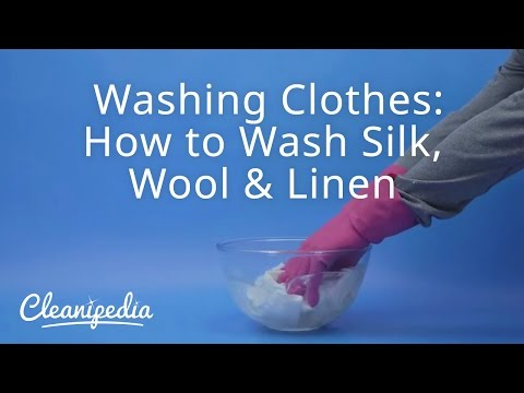 Washing Clothes: How to Wash Silk, Wool & Linen